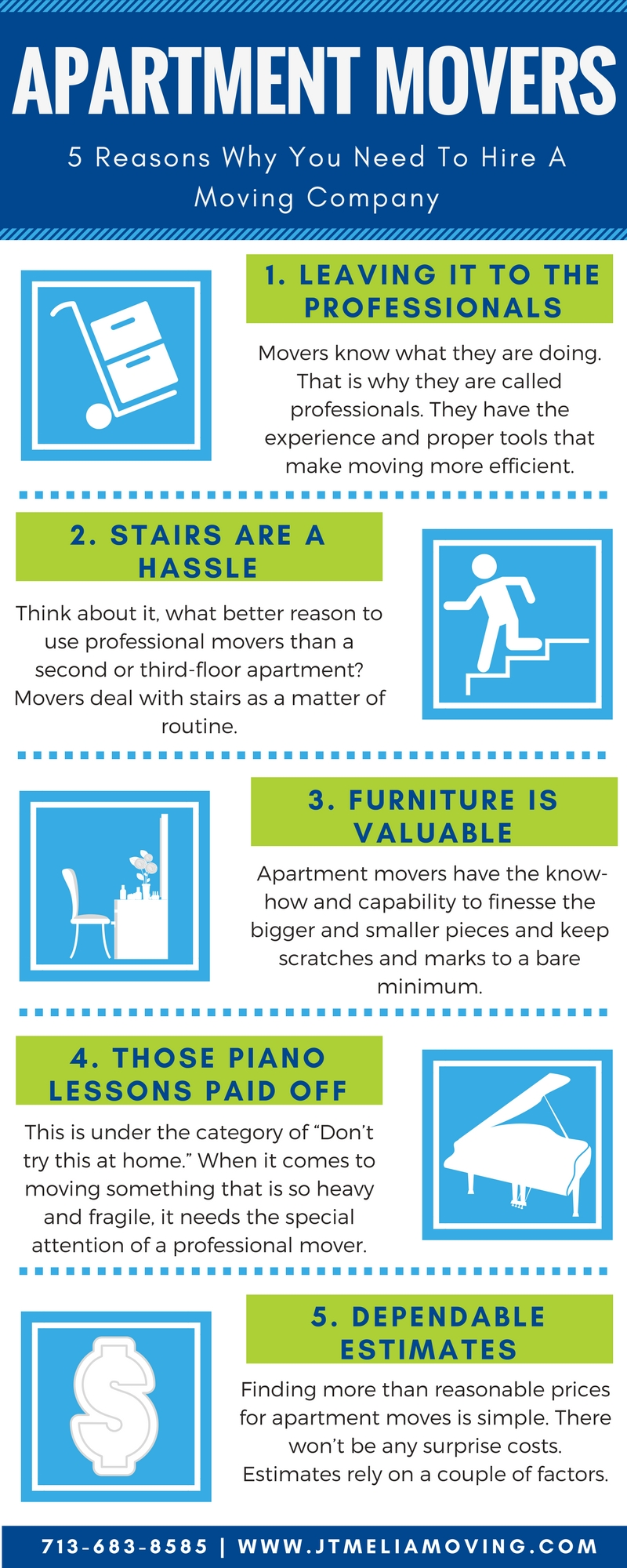 5 Reasons You Need A Moving Company To Move Your Apartment
