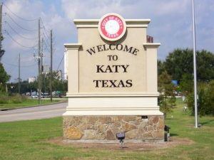 Katy, TX Welcome Sign