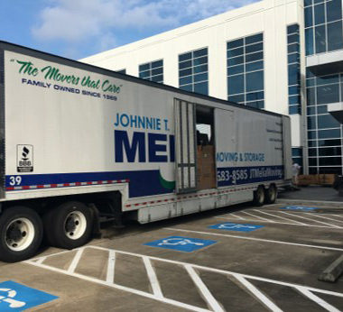 Moving Truck From JT Melia Movers