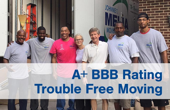 A+ BBB Rating Trouble Free Moving