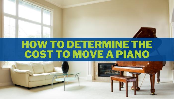 Determining The Cost To Move A Piano | Houston Piano Mover